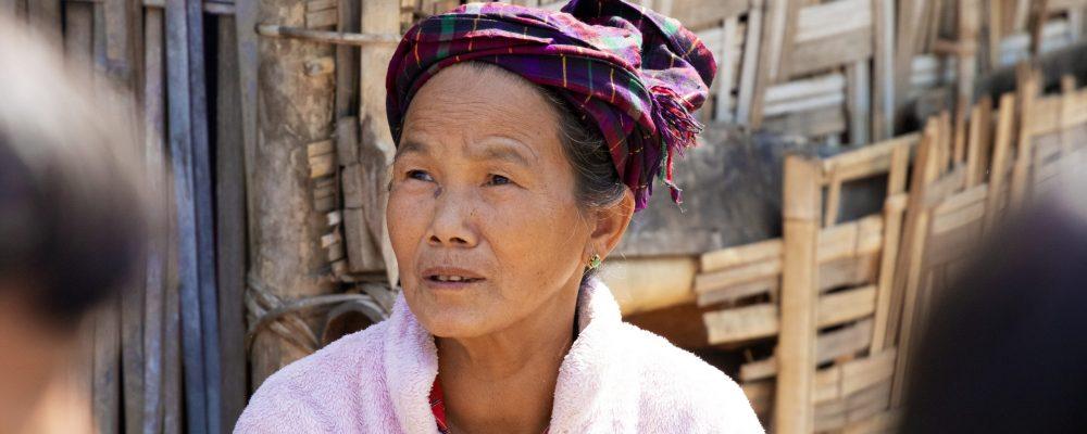 IDP Lady
